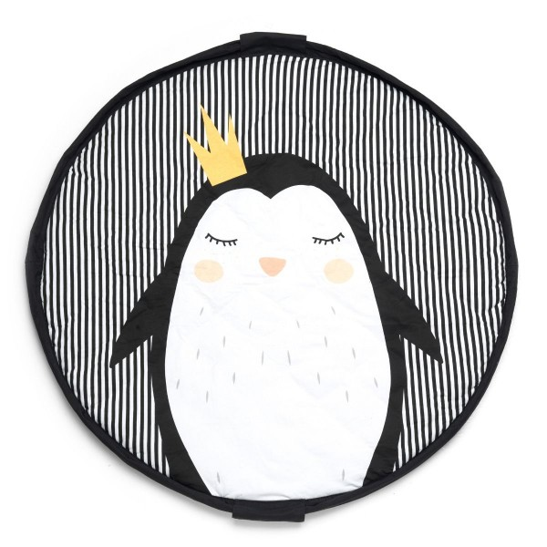 Play & Go Spielzeugsack 2-in-1 SOFT - Pinguin