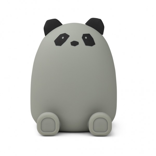 Liewood Palma money bank - panda dove blue