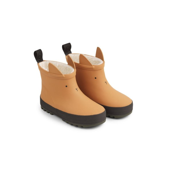 Jesse Thermo Rain Boot - MUSTARD/BLACK MIX