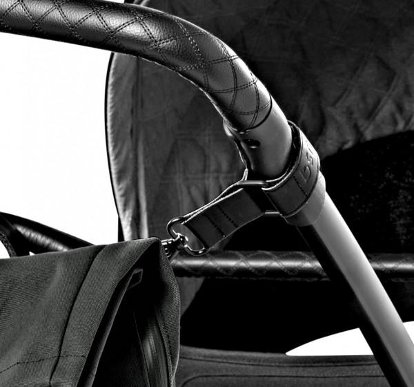 dusq Kinderwagen-Haken - black