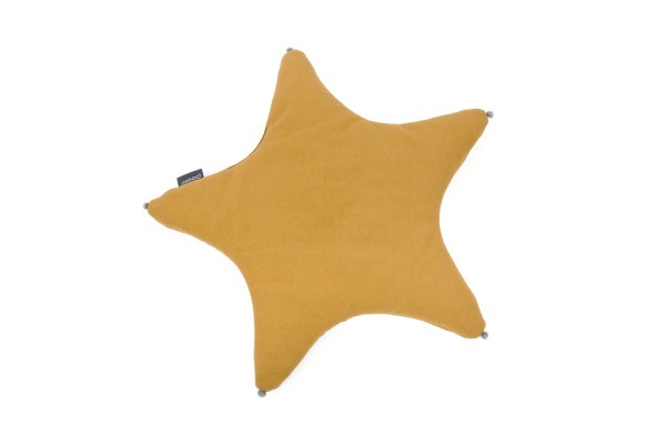 Babykissen STAR - mustard