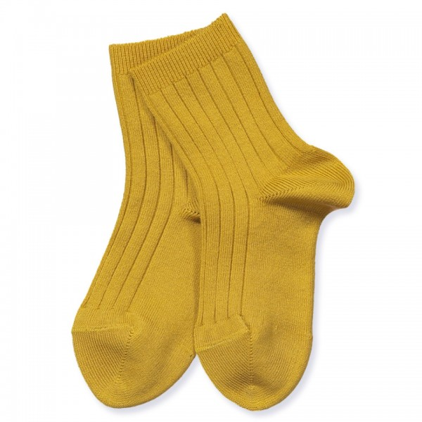 Condor Rib socks - curry