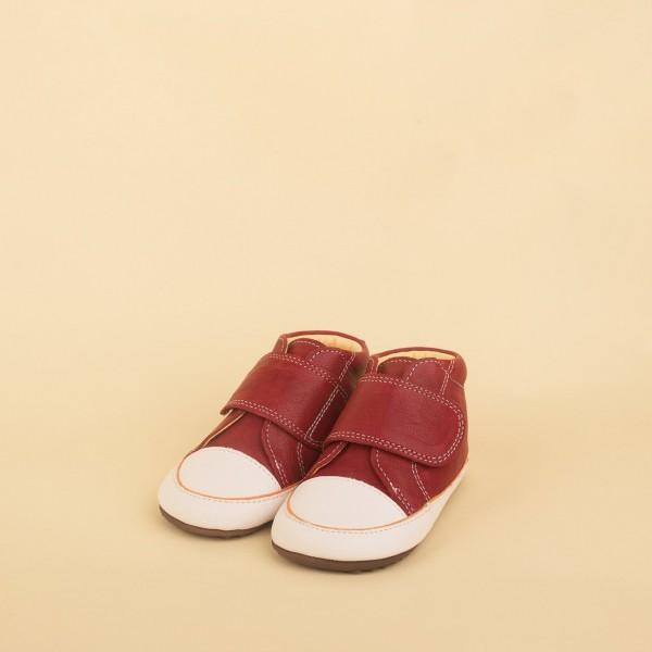 Dulis Strap Sneaker Bootie - bordeaux