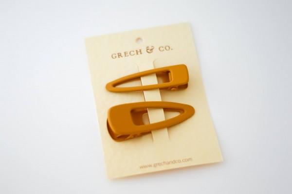 Grech & Co. Clips 2er-Set - Golden