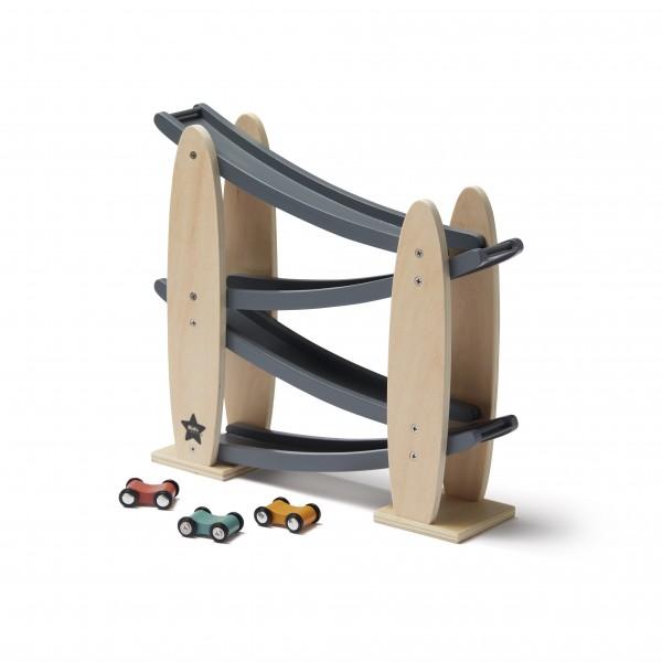 Kids Concept Kugelbahn Aiden mit Autos
