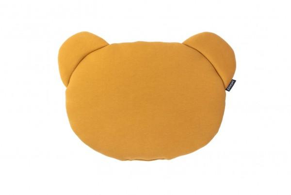 poofi Babykissen TEDDYBEAR - mustard/grey